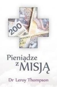 Pieniądze z misją - okładka książki