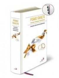 Pismo Św. Biblia dla rodziny - Ślub (paginatory) - okładka książki