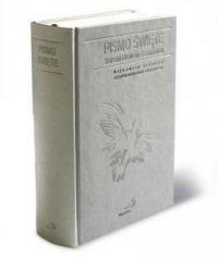 Pismo Święte ST i NT (kolor szary, paginatory) - okładka książki