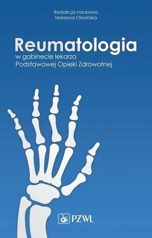 Reumatologia w gabinecie lekarza - okładka książki