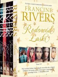 Rodowód Łaski – Francine Rivers – pakiet - tomy od I do V - okładka książki