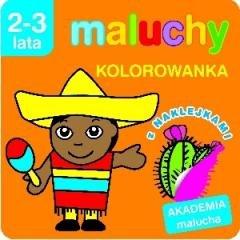 Akademia Malucha. Kolorowanka z - okładka książki