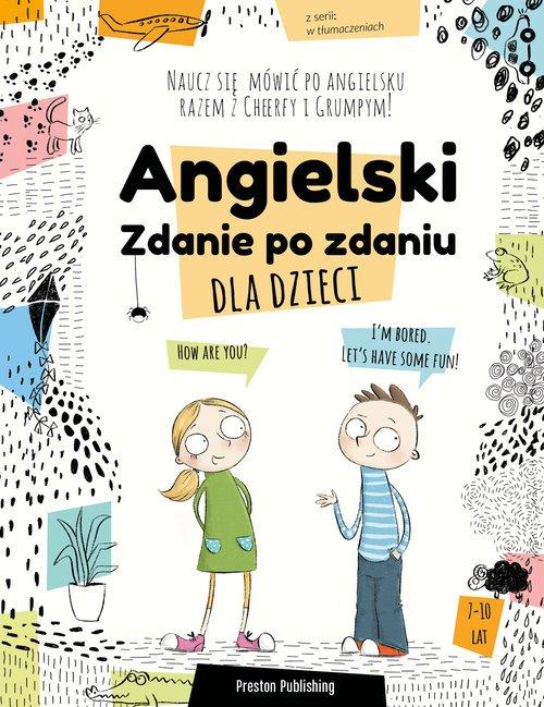 Angielski dla dzieci. Zdanie po - okładka podręcznika