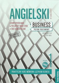 Angielski w tłumaczeniach Business 1 - okładka podręcznika
