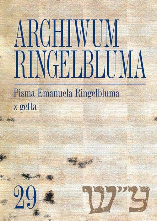 Archiwum Ringelbluma Konspiracyjne - okładka książki