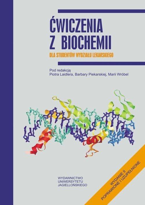 Ćwiczenia z biochemii dla studentów - okładka książki