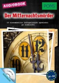 Der Mitternachtsmörder B1-B2. 10 niesamowicie intrygujących opowieści po niemiecku - okładka podręcznika