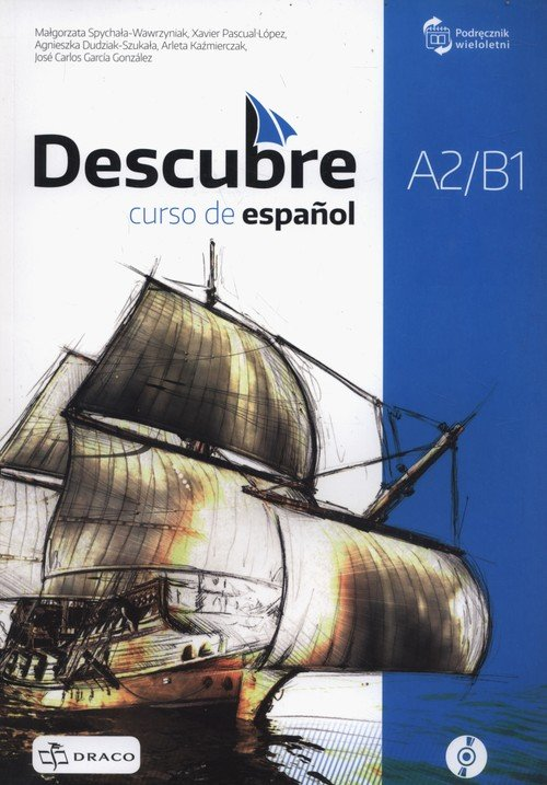 Descubre A2/B1. Podręcznik wieloletni - okładka podręcznika