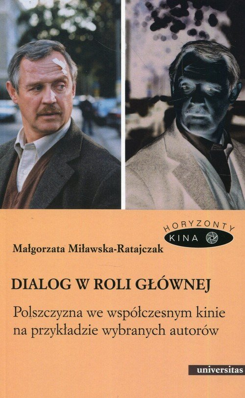 Dialog w roli głównej. Polszczyzna - okładka książki