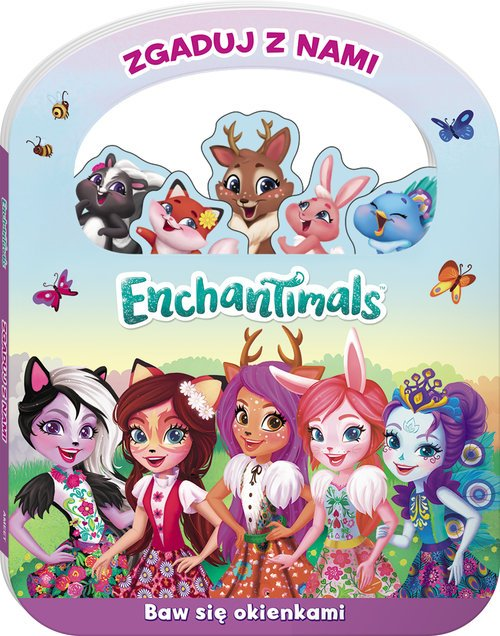 Enchantimals Zgaduj z nami. DRF-150 - okładka książki