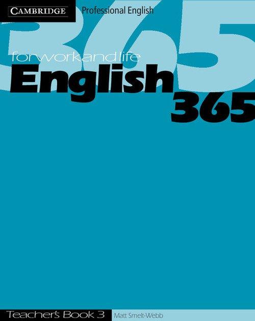 English365 3 Teachers Book - okładka podręcznika