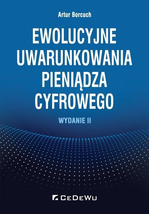 Ewolucyjne uwarunkowania pieniądza - okładka książki