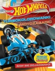 Hot Wheels Turbokolorowanki i motozagadki - okładka książki