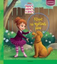 Kłopot na wystawie psów. Ilustrowana czytanka - okładka książki