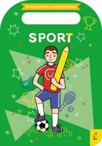 Kolorowanki przedszkolaka. Sport - okładka książki