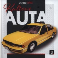 Kultowe Auta 21. Chevrolet Caprice - okładka książki