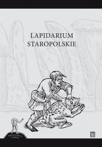 Lapidarium staropolskie. Seria: Bibliotheca Curiosa - okładka książki