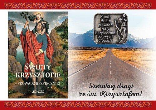 Modlitewnik. Święty Krzysztofie...+ - okładka książki