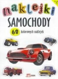 Naklejki. Samochody - okładka książki