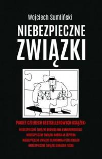 Niebezpieczne związki B. Komorowskiego, A. Leppera, S. Petelickiego, D. Tuska. PAKIET 4 KSIĄŻEK - okładka książki