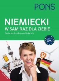 Niemiecki W sam raz dla Ciebie A1/A2. Nauka języka dla początkujących - okładka podręcznika