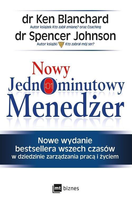 Nowy Jednominutowy Menedżer - okładka książki