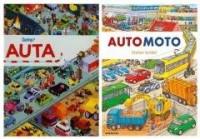 Auta + automoto. PAKIET - okładka książki