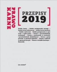 Prawo Karne. Przepisy 2019 - okładka książki