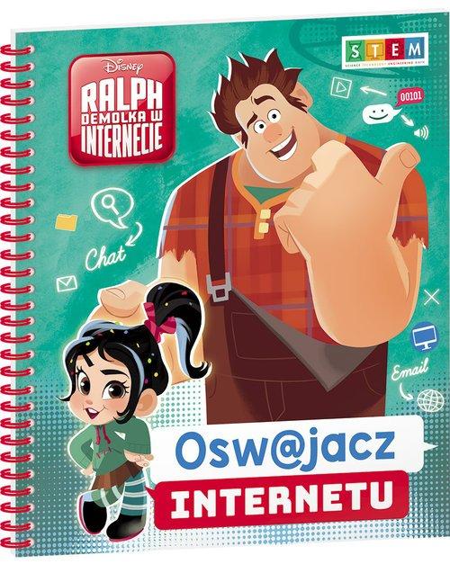 Ralph Demolka w Internecie Oswajacz - okładka książki