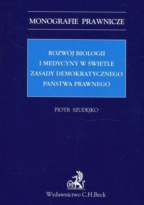 Rozwój biologii i medycyny w świetle - okładka książki