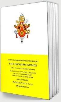 Sakramentum Caritatis - okładka książki