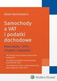 Samochody a VAT i podatki dochodowe - okładka książki