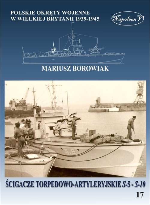 Ścigacze torpedowo-artyleryjskie - okładka książki
