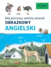 Słownik obrazkowy szkolny angielski - okładka podręcznika