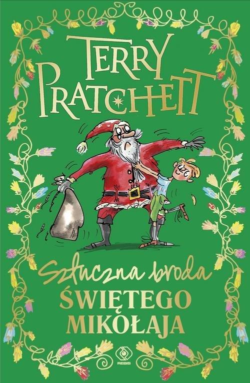 Sztuczna broda Świętego Mikołaja - okładka książki