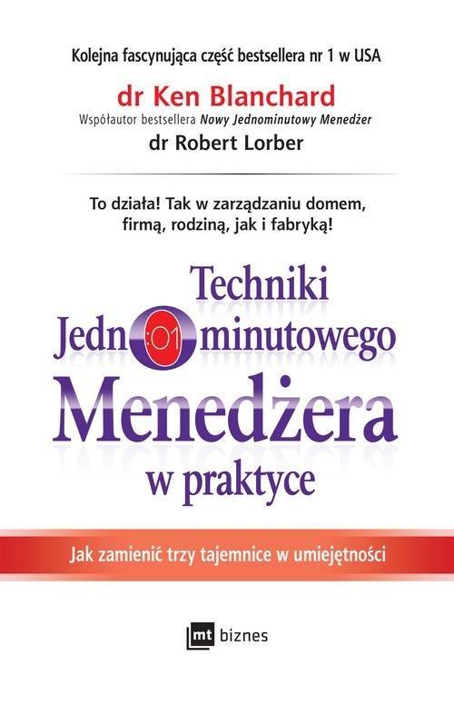 Techniki Jednominutowego Menedżera - okładka książki