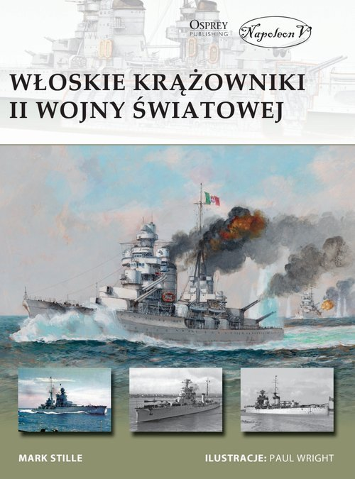 Włoskie krążowniki II wojny światowej - okładka książki