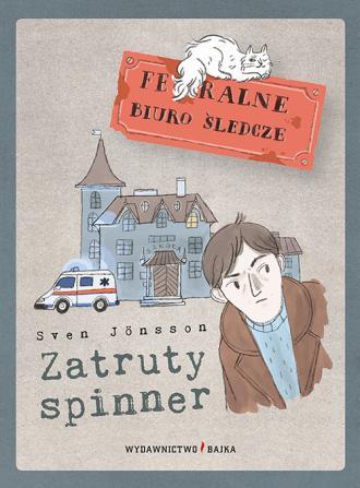 Zatruty spinner - okładka książki