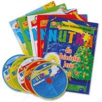 Zestaw Nasze rozśpiewane dzieciaki - okładka książki