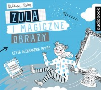 Zula i magiczne obrazy - pudełko audiobooku