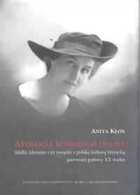 Apologia kobiecego ducha Sybilla - okładka książki
