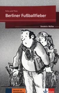 Berliner Fußballfieber - okładka podręcznika