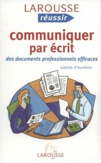 Communiquer par ecrit - okładka podręcznika