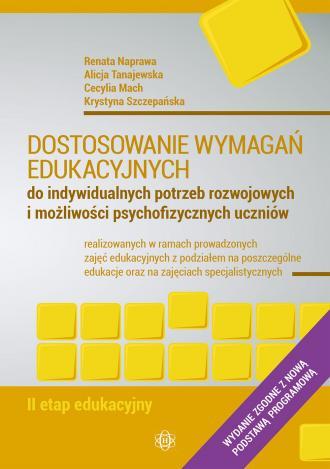 Dostosowanie wymagań edukacyjnych - okładka książki
