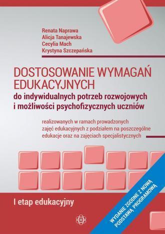 Dostosowanie wymagań edukacyjnych. - okładka książki