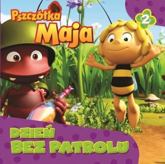 Dzień bez patrolu. Pszczółka maja - okładka książki