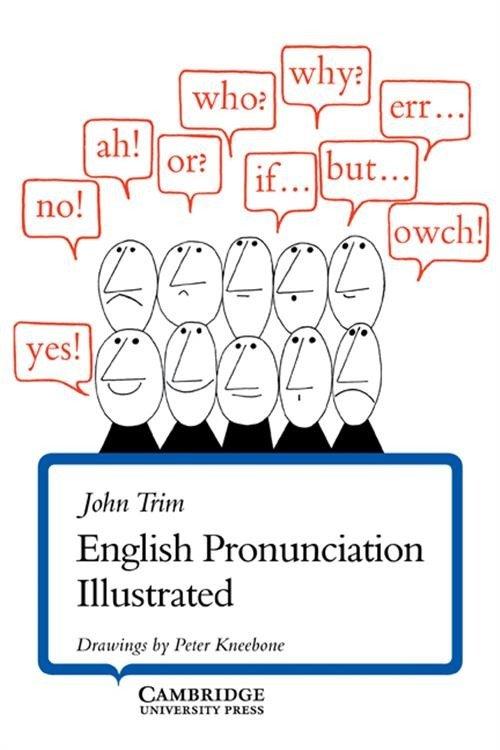 English Pronunciation Illustrated - okładka książki