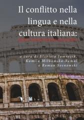 Il conflitto nella lingua e nella - okładka książki
