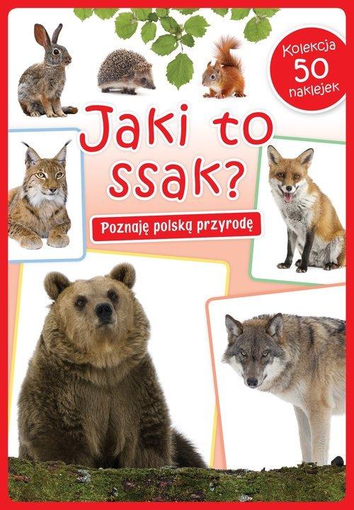 Jaki to ssak? - okładka książki