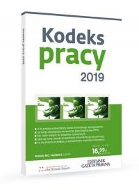Kodeks pracy 2019 - okładka książki